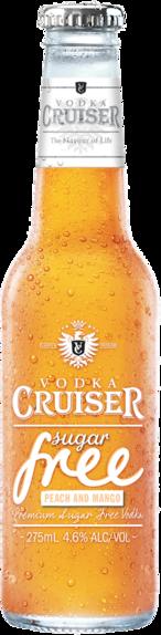 null Cruiser Vodka & No Sugar Peach/Man 24X275ML