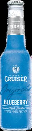 null Cruiser Vodka & Bold Blueberry Bottle 24X275ML