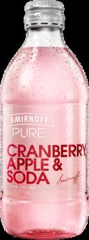 null Smirnoff Pure C/Berry Apple & Soda Bottle 24X300ML