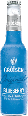 null Cruiser Vodka & Bold Blueberry Bottle 4X275ML