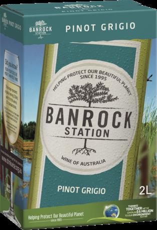 null Banrock Station Pinot Grigio Cask 2L