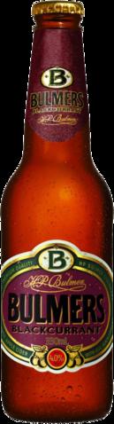 null Bulmers Blackcurrant Bottle 4X330ML