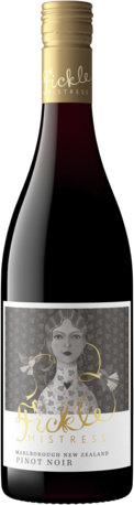 null Fickle Mistress Pinot Noir Marlborough, NZ 750ml