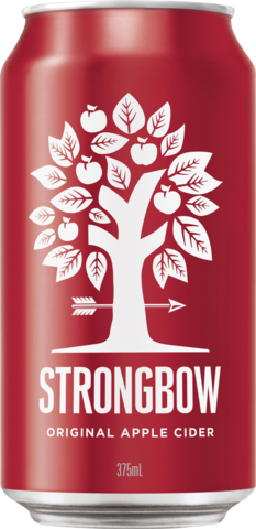 null Strongbow Classic Apple Can 10X375ML