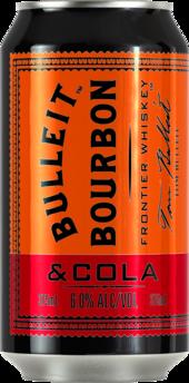 Bulleit Bourbon & Cola 6% Can 24X375ML
