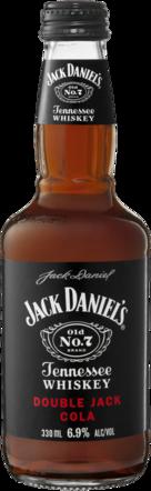 null Jack Daniels Double Jack & Bottle 24X330ML