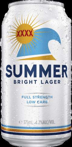 null XXXX Summer Bright Can 24X375ML