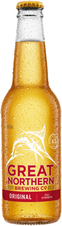 null Great Northern Original Bottle 6X330ML