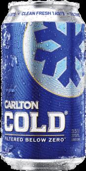 null Carlton Cold 3.5% Can 6X375ML