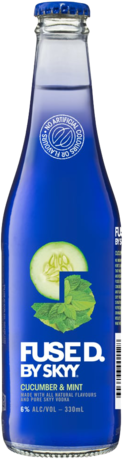 null Skyy Fused Cucumber & Mint 4X330ML