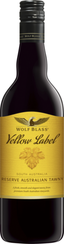 null Wolf Blass Yellow Tawny 750ML