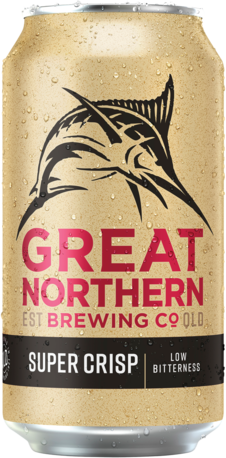 null Great Northern Super Crisp 3.5% Can 6X375ML