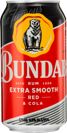null Bundaberg Rum Red & Cola 4.6% Can Cube 24X375ML