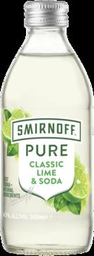 null Smirnoff Ice Lime Bottle 24X330ML