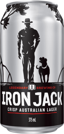 null Iron Jack Black Lager Can 6X375ML