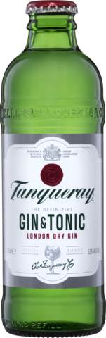 null Tanqueray Gin & Tonic Btl 4X275ML