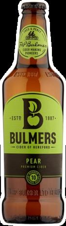 null Bulmers Pear Bottle 4X330ML