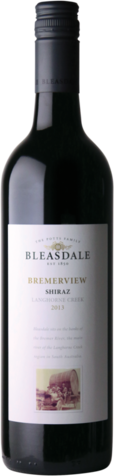 null Bleasdale Bremerview Shiraz 750ML