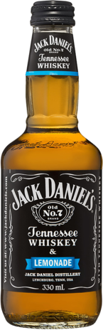 null Jack Daniels Tennessee Whiskey & Lemonade Bottle 24X340ML
