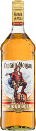 null Captain Morgan Spiced 1LT
