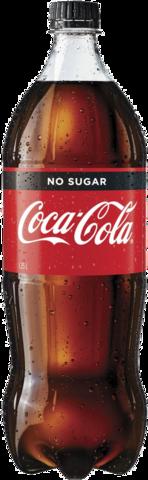 null Coca Cola No Sugar Bottle 1X1.25LT