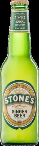null Stones Premium Ginger Bottle 24X330ML
