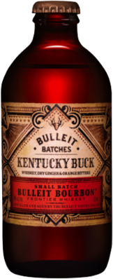 null Bulleit Bourbon & Cola 6% Bottle 4X330ML