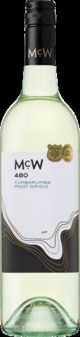 null McWilliams 480 Tumbarumba Pinot Grigio 750ML