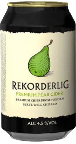 null Rekorderlig Pear Cider Can 4X330ML