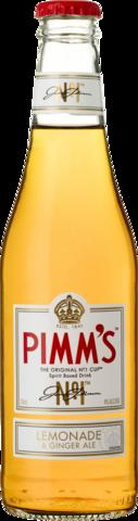 null Pimms & Lemonade 4% Bottle 4X330ML