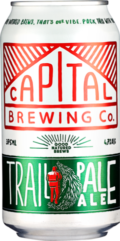 null Capital Trail Pale Ale Can 6X375ML