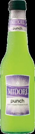 null Midori Punch Bottle 4X275ML