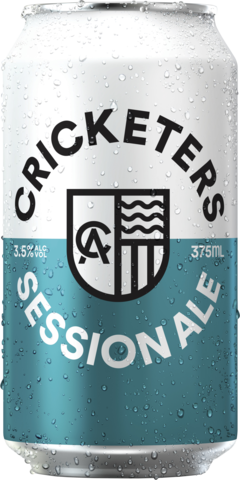 null Cricketers Session Ale 3.5% 4 x 6 x 375mL