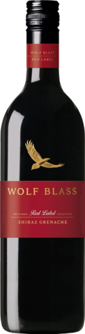null Wolf Blass Red Label Shiraz Grenache 2018 750mL