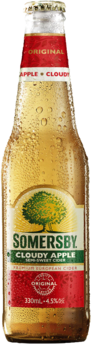null Somersby Cloudy Apple Btl 24X330ML