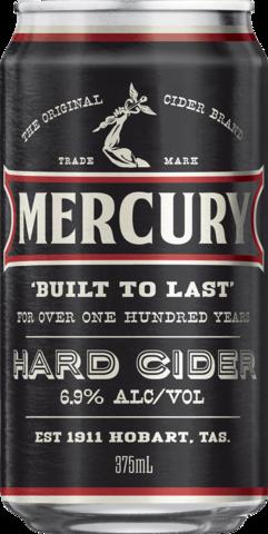 null Mercury Hard Cider Can 6X375ML