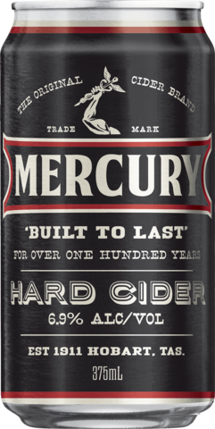 null Mercury Hard Cider Can 24X375ML