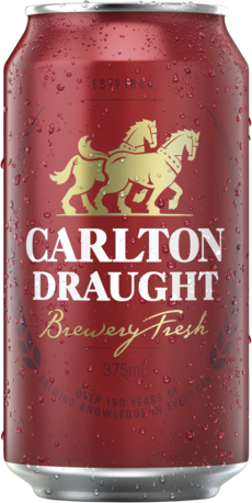 null Carlton Draught Can 6X375ML