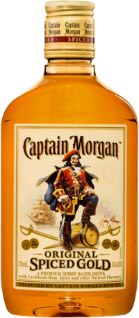 null Captain Morgan Spiced 375ML