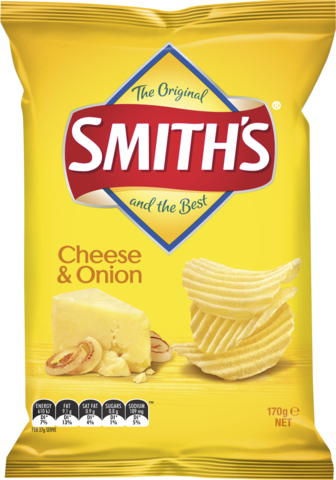null Smiths Crinkle Cheese & Onion170gm