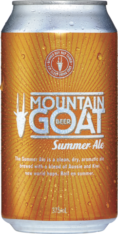 null Mountain Goat Summer Ale 4.7% 4 x 6 x 375mL