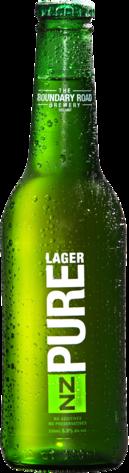 null NZ Pure Summer Lager 5% Bottle 24X330ML