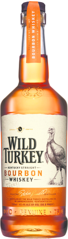 null Wild Turkey Bourbon 86.8% 700ML