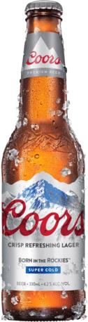 Coors Beer Bottle 24X330ML