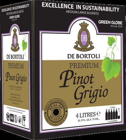 null De Bortoli Pinot Grigio Cask 4LT