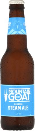 null Mountain Goat Organic Steam Ale 4.5% 4 x 6 x 330mL