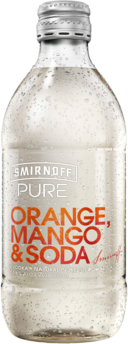 null Smirnoff Pure Orange & Mango Bottle 24X300ML