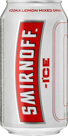 null Smirnoff Ice Red Can 4X375ML