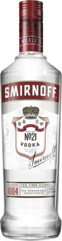 null Smirnoff Red Vodka 700ML