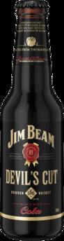 null Jim Beam Devils Cut Bourbon & Cola 24X330ML